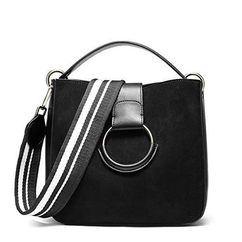 Black Mode Capacité Grande Femmes Large Sac Rétro Mat Bag Bandoulière Messenger Épaule Pu Une qOzOfxt