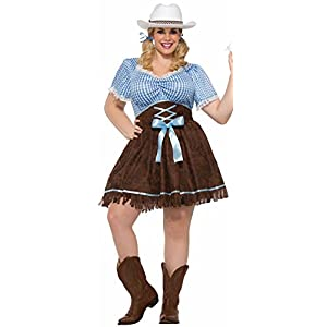 Plus Size Cowgirl Costumes (Women) for Sale - Funtober Halloween