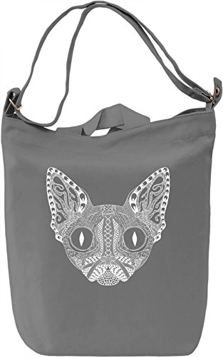 Ornament cat Borsa Giornaliera Canvas Canvas Day Bag| 100% Premium Cotton Canvas| DTG Printing|