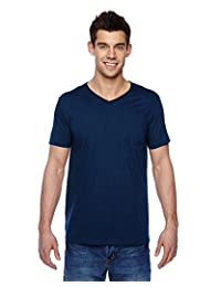 SFVR Fruit of the Loom 4.7 oz., 100% SofspunTM Cotton Jersey V-Neck T-Shirt