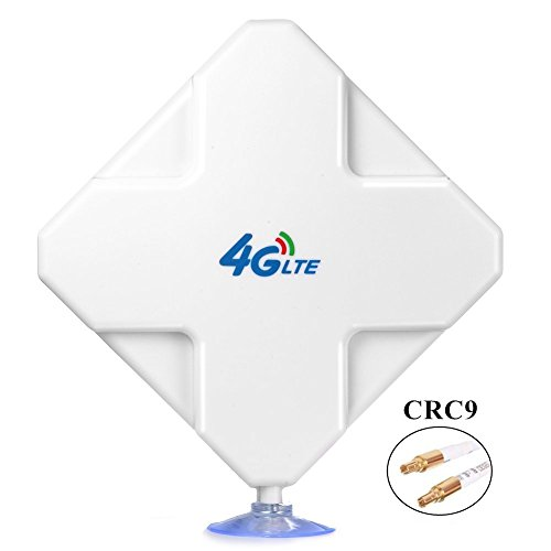 CRC9 4G LTE Antenna, Aigital 35dBi High Gain MIMO Network Antenne Cell Phone Booster Amplifier External Omni Directional Adapter for 4G WiFi Router Mobile Broadband Hotspot Outdoor Signal Extender ()
