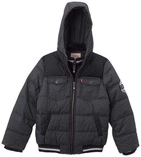 Levi s Pablo - Manteau - Uni - Garçon - Noir - FR  4 ans (Taille fabricant   4 ans)  Amazon.fr  Vêtements et accessoires 5feb17e4d0cc