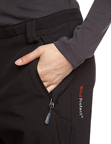 CMP - F.lli Campagnolo Hose Softshell - Pantalones de esquí para mujer negro (u901)