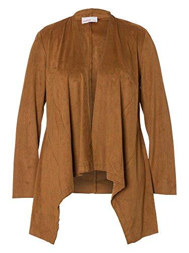 sheego Style Chaqueta tallas grandes nueva colección Mujer coñac