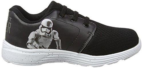 Star Wars-The Clone Wars Darth Vader Jedi Yoda Chicos Deportivas - Gris Gris