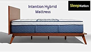 product image for Intention Hybrid Mattress with Deluxe Adjustable Base (Queen, Firm)