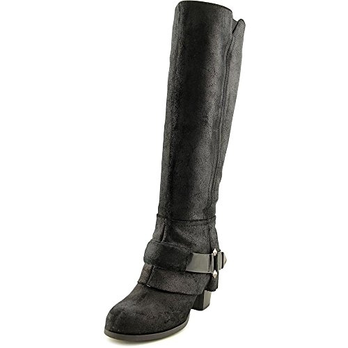 Teoria Fergie Delle Donne Western Boot Nero Thunder C Leather