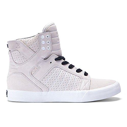 Off Alta Sneaker White White SupraSkytop Uomo Black 46StB5qn
