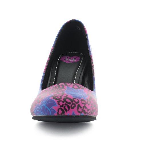 Mujer Para Rosa Pink u k Vestir De purple Sintético T Zapatos x60ZYwqa