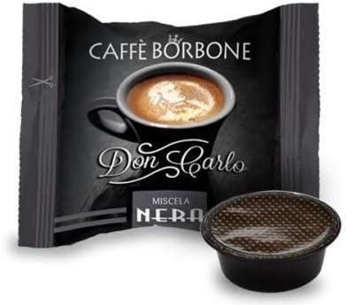 Don Carlo M/élange Noir 100 pi/èces Compatible Lavazza A Modo Mio Caffe Borbone