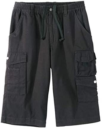 [nissen(ニッセン)] カバン要らずハーフカーゴイージー パンツ メンズ