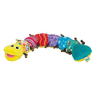 Lamaze Lovely Musical Inchworm Colorful Baby Plush Toy for Fun