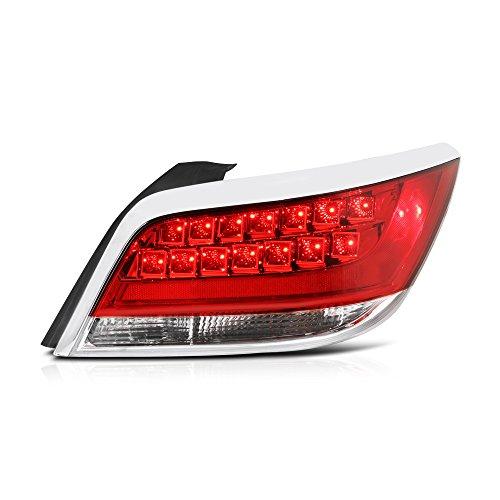 VIPMOTOZ Rosso Red Lens Tail Light Lamp For 2010-2013 Buick Lacrosse & (Buick Tail Light Lens)