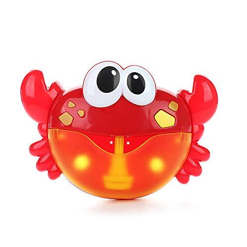 Wenyun Crab Bubble Bath Toy, Bubble Maker with Nursery Rhyme Bathtub Bubble Toys for Baby Happy Tub Time
