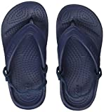 Crocs Classic K Flip Flop (Toddler/Little Kid), Navy, 9 M US Toddler