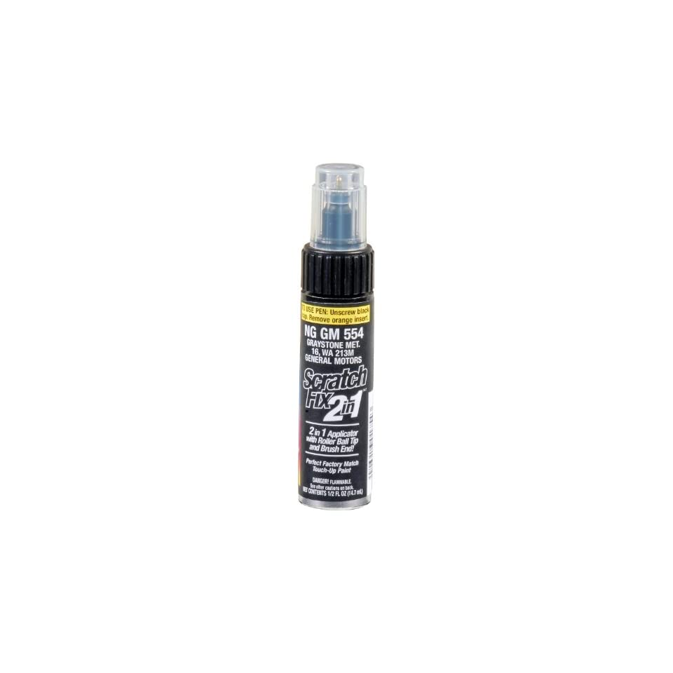 Dupli Color NGGM554 Graystone Metallic General Motors Exact Match Touch up Paint   0.5 oz. Automotive
