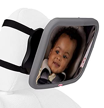 Nuby Back Seat Baby View Mirror, Pink 120091