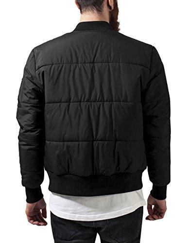 Jacket Bomber black Giacca Uomo Urban Classics Quilt Basic Nero wIqSZfUvx