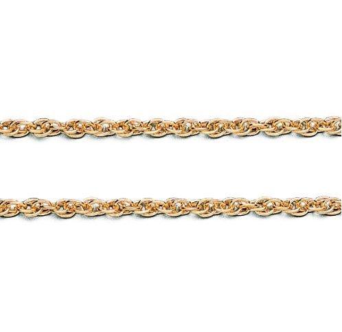 LIOR -1.2mm largeur - Chaîne solide (non creux) en Or jaune 750/1000 25cm 1.7gr