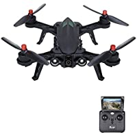 STOTOY RC Drone, Remote Control Drones for Adults and Kids - RC Brushless Drone Racing Quadcopter 2.4G 300M RTF Drone with Long Flight Time &Long Range(Upgradable to FPV Version)