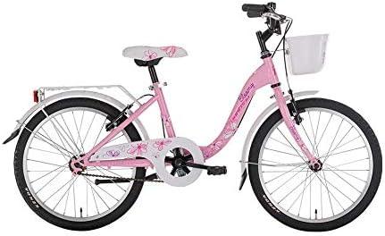 BLOOMY - Bicicleta para niña, 20 pulgadas, 7/9 años, color rosa ...