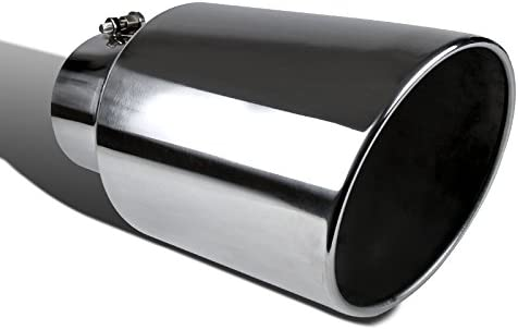 - 5 Inch Inlet, 8 Inch Outlet Spec-D Tuning MF-TP0508D-S-TD Exhaust Tip