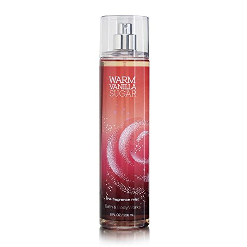 Bath & Body Works Warm Vanilla Sugar 8.0 oz Fine Fragrance Mist