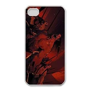 iphone4 4s phone case White Kargath Bladefist World of Warcraft WOW SSE2629103