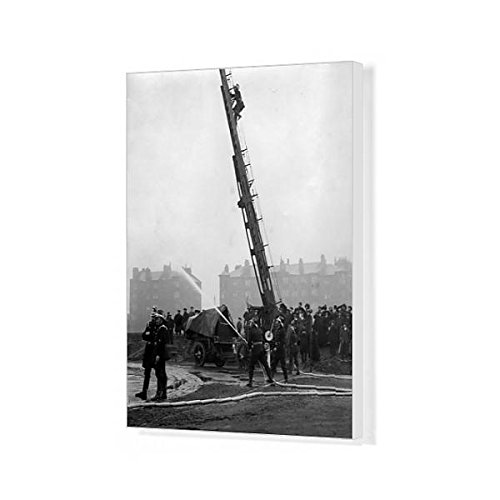 20x16 Canvas Print of Glasgow Fire Drill Competition, Scotland (7242549)