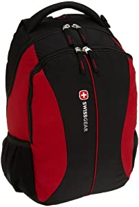 Amazon.com: Swiss Gear SA1061 Black/Swiss Red Backpack: Electronics