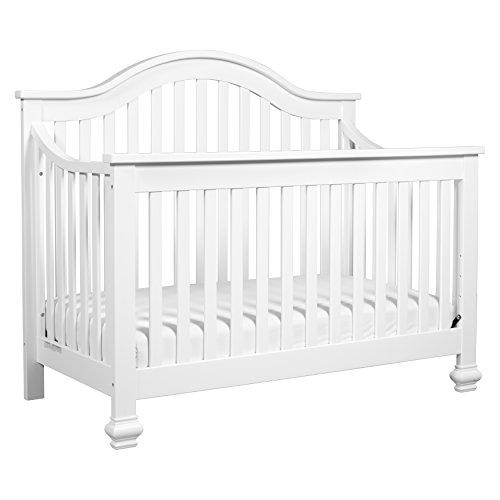 DaVinci Clover 4-in-1 Convertible Crib, White