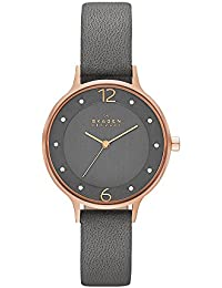 Women's SKW2267 Anita Grey Leather Watch