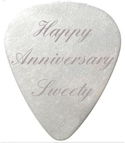Feliz cumpleaños Sweety de púa de guitarra/de plectro de color ...