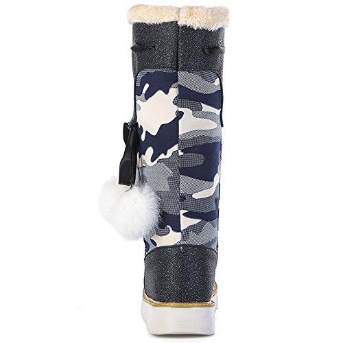 Eclimb Womens Black Snow Boots Us 5.5
