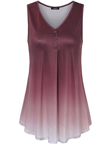 Laksmi Womens Sleeveless Pleated Casual product image