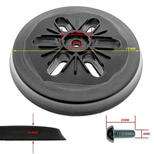 Almohadilla de lijado de 6 agujeros para amoladora el/éctrica accesorios de herramientas el/éctricas