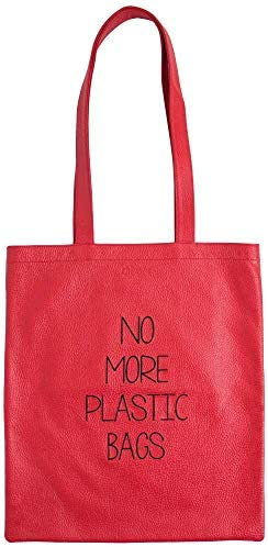 diboni NO MORE PLASTIC BAGS aus Leder - Made in Germany