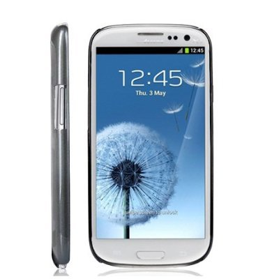 Elsse-30037-Super-Premium-Slim-Case-with-Screen-Protector-for-Samsung-Galaxy-S3-I9300-Gray