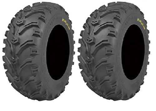 Claw Bear Small - Pair of Kenda Bear Claw (6ply) ATV Tires [24x10-11] (2)