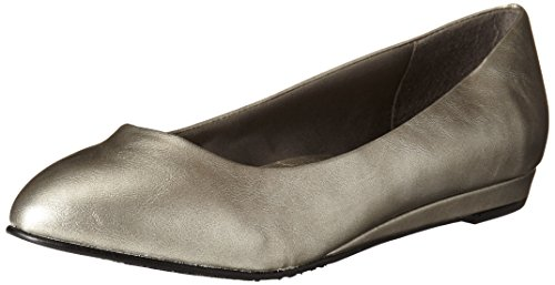 US Soft Flat 10 Style Dark Pewter N Women's Pewter Darlene by Hush Puppies Dark YKPrqFYw