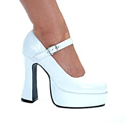 Ellie Shoes Women's 557 Eden Platform Pump, Black, 6 M US