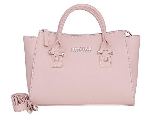 Kenneth Cole Reaction KN1550 Magnolia Handbag Top Handle Messenger Crossbody Shoulder Bag (Blush)
