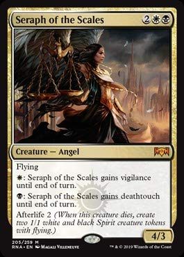 Amazon.com: Magic: The Gathering - Seraph of The Scales (205 ...