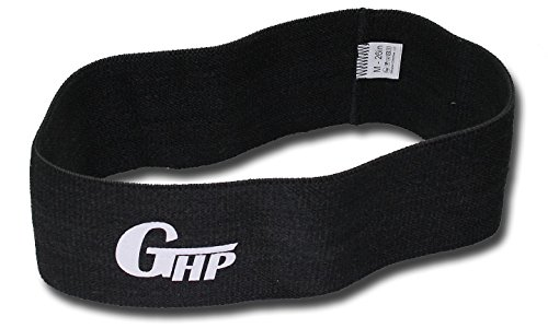 Gillingham High Performance GHP Hip Resistance Circle Workout Band – Activate, Strengthen, and Tone The Hips and Glutes. (Black – Heavy Duty, L (30in))