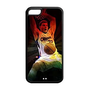 iPhone 5C TPU Case with LA Clippers Blake Griffin Graphic Image-by Allthingsbasketball