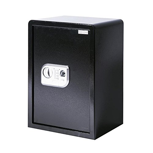 Black Fingerprint Scanner Safe Deposit Box 19.7