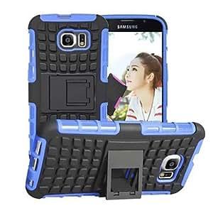 Teléfono Móvil Samsung - Cobertor Posterior - Patrón de Cuadrícula - para Samsung Samsung Galaxy S6 ( Negro/Blanco/Rojo/Verde/Azul/Púrpura/Rosa/Orange , Orange