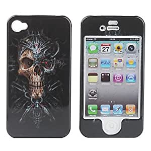 Protective Smooth Polycarbonate Front and Back Case for iPhone 4 and iPhone 4S (Mummy)