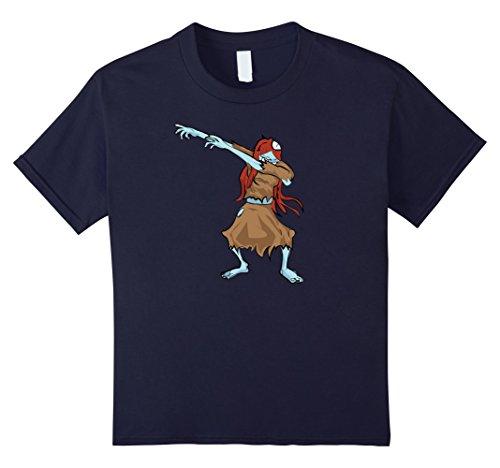 Zombie Dancer Costume Ideas (Kids Halloween Dabbing Zombie Tshirt Zombie Dab Halloween Costume 12 Navy)