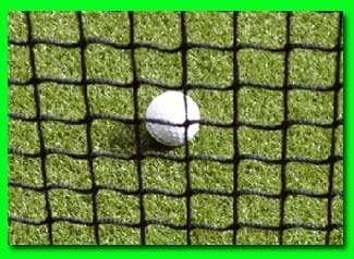 Golf Net 9' x 15' Golf Hitting Net, Commercial Grade with Borders and Grommets. High Velocity Hang and Hit Golf Ball Impact Panel, Made for Real Golf Balls! Golf Practice Net Panel By Dura-Pro by Dura-Pro High Velocity Net Panels (Image #3)